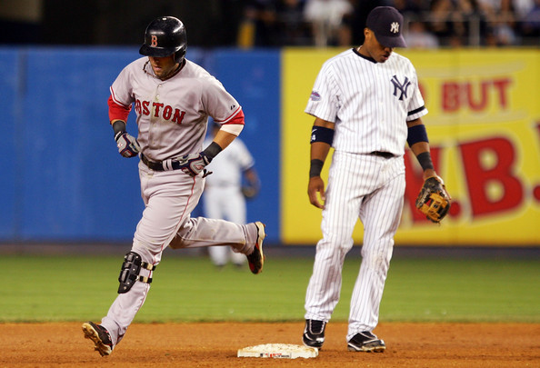 """Dustin """"Laser Show"""" Pedroia is the most vital part of this Red Sox team if not for his play on the field, for the hustle and tenacity he plays every game with. Hopefully Don Orsillo is yelling """"to the moon"""" a lot this season."""