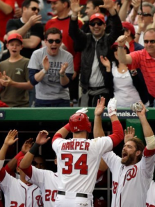 Bryce Harper owned baseball on Opening Day