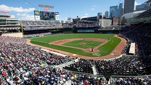Target Field was a must need for the Twins a few years ago. The HHH Metrodome just was not getting the job done, much like Tropicana Field in Tampa Bay. The weather was and still is the one downside because during the games early in the season the weather can get low with wind being able to rattle the ball around in the air.