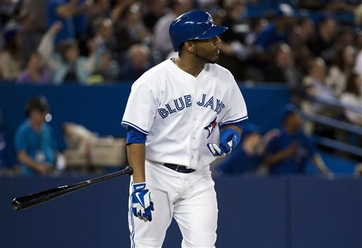 Edwin Encarnacion is pistol hot at the plate right now, with 7 HRs and 14 RBI in the last 12 Games Played. In that time frame, he is carrying a 1.127 OPS.  EE began May with just 2 HRs, and now he is tied for 4th in the AL with 11 big flies on the campaign.  The Blue Jays 1B hit a HR for the 2nd straight game Tues night - after featuring his 3rd Multi HR contest since May 8th.  EE also had a 3 game HR streak from May 6 - May 8.