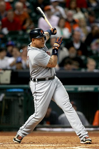 Miguel Cabrera's for the Detroit Tigers are decisively better in a Tigers uniform - 6 YRS (.326/.404/.989) than his Marlins days (.313/..388/.929).  How much greater will the man become being just the Age of 30?