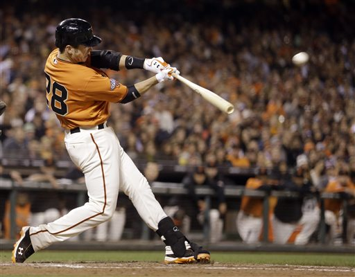 Between his incredible performance in 2010 that led the Giants to the World Series title, and led him to the 2010 Rookie of the Year award, and his MVP-worthy performance in 2012 that gave the Giants their 2nd championship in 3 years, it seems that whenever the Giants have Posey on the field, they have a fighting chance.  The only time before this season the team struggled was in 2011- after Posey was smashed in a home plate collision.  But he needs helps this campaign.