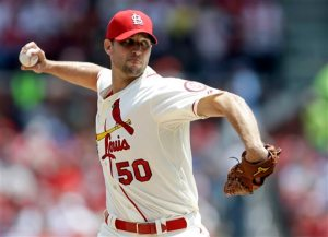 Wainwright has been money in the bank since the club acquired him. He is 99 - 57 (.635) with a 3.11 ERA.  Wainwright finished 2nd in 2013 NL Cy Young Voting which meant a top 3 vote for the 3rd time in his last 4 full years played.  The RHP has led the NL in wins 2x (2009 and 2013).  He also has a  4 - 3 mark in PostSeason - with a 2.53 ERA in time as a Closer - and as a Starting Pitcher.  He underwent Tommy John Surgery after the 2011 year.