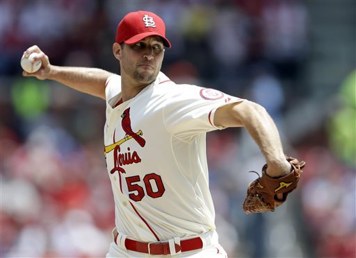 Wainwright has been money in the bank since the club acquired him. He is 99 - 57 (.635) with a 3.11 ERA.  Wainwright finished 2nd in 2013 NL Cy Young Voting which meant a top 3 vote for the 3rd time in his last 4 full years played.  The RHP has led the NL in wins 2x (2009 and 2013).  He also has a  4 - 3 mark in PostSeason - with a 2.53 ERA in time as a Closer - and as a Starting Pitcher.