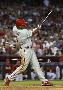 Delmon Young has not exactly lit up for the Phillies this campaign - hitting .208/.286/.619 and just 1 HR, plus 4 RBI in 48 AB.  Despite this abysmal start, Delmon Young might just hit 5th?  Really?