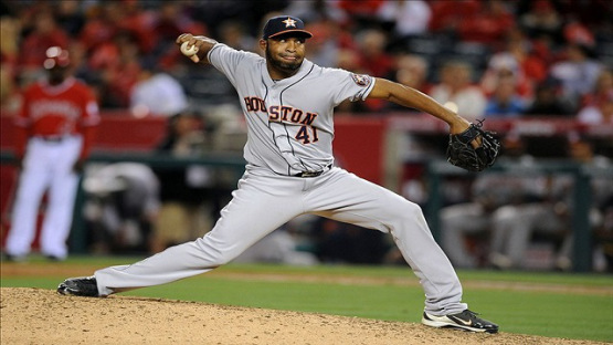 Jose Veras has thrown okay for the Astros - despite blowing 3 Save Opportunities in 11 Chances this season.  Friday's Blown Save has put a wrench on a nice May he was authoring from the Bullpen.  Over his past 14 outings, veras has pitched 14.2 innings and allowed two runs while recording eight saves. Opponents are only 4 for 44 (.091) against Veras in those outings.