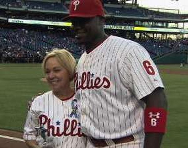 Ryan Howard is beloved in Philly for all of his charitable work.  He is still the face of the franchise.  With Chase Utley likely leaving, he will be even more important.  Howard has a 3 Slash Line of .275/.305/.800 with 5 HRs, 9 Doubles and 18 RBI.