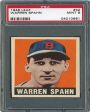 An American Hobby:  Baseball Memorabilia – Warren Spahn's Card (1948 Leaf Set)