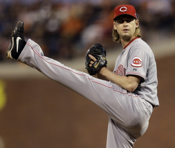 As a member of the Reds, Arroyo has a record of 95-86, and ERA of 4.06, and has started 242 games, pitching 1,548.2 Innings. In 2006, he made the All-Star team, and pitched a career high 240.2 innings, and has only pitched less than 200 innings once in a Reds uniform, pitching 199 innings in 2011. In 2010, he won a Gold Glove.