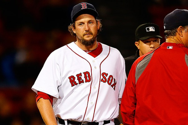 It seemed like everyone was so much more excited about Hanrahan joining the Red Sox this offseason than any of their other acquisitions. Turns out his time in Boston was not only short, but memorable for all the wrong reasons. Where is Mark Melancon when you need him...Oh wait.
