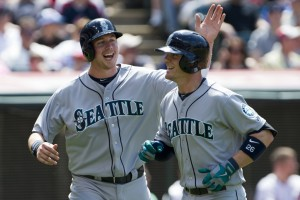 One bright spot for the Mariners over the past couple of days has been first baseman Justin Smoak, who has reached base eight times in the last three games.