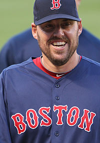 Lackey has definitely earned a photo in this article as he has looked better than ever since joining the Red Sox in 2010. He's only 3-5, but he's showing that he can work deep into games, control the baseball, miss bats, and keep opponents runs to a minimum.