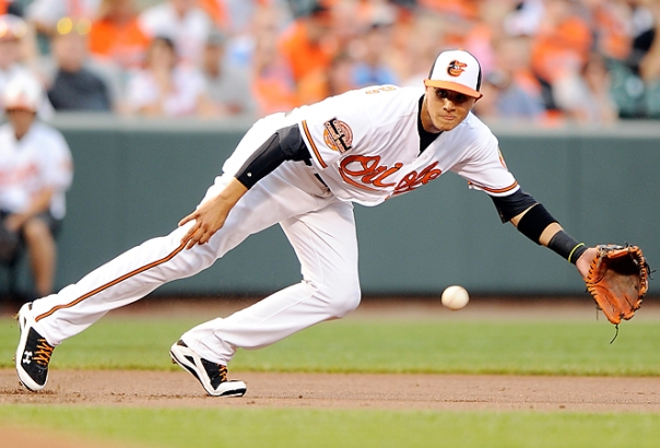 """Machado has been hitting the ball at a historically good rate for a 20 Year old - He leads the AL in GP (85) PA (388) AB (365) and Doubles  (38).  """"The Macho Man"""" s showing maturity well beyond his years - hitting for a 3 Slash Line of .320/.350/.833"""