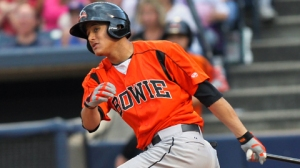 Machado hit .266 with the AA Bowie Baysox in 2012, the season that he got the call. Not spectacular, but it was good enough for the O's to decide he could help them in a pennant race.