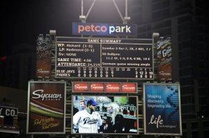 Blue Jays Padres Baseball