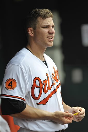 "Chris Davis was the hitter of the month for the MLB Reports.  The guy has 20 HRs and 20 2B on the season - after hitting 11/11 for both columns in the last 30 Days.  The Orioles slugger also hit for a 3 Slash Line of .385/.448/1.256.  Davis also Walked 11 Times, drove in 22 RBI - and collected 40 Hits in just 24 Games Played.  He is on pace for a 50 HR/ 50 Doubles Season.  ""Crush"" is due for Arbitration after this year - and will garner a considerable payraise from the $3.3 MIL he will earn this season."