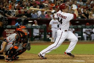 "Paul Goldschmidt is having a great season for the first place Arizona Diamondbacks. He has already surpassed his 2012 Home Run total of 20 with 21 at the break and a miraculous 77 RBI. He is leading the Diamondbacks without a doubt but is he the National League MVP? ""  Paul Goldschmidt is having a great season for the first place Arizona Diamondbacks. He has already surpassed his 2012 Home Run total of 20 with 21 at the break and a miraculous 77 RBI. He is leading the Diamondbacks without a doubt but is he the National League MVP?"