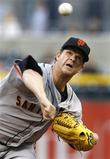 Matt Cain is struggling this season to say the least. He has games where he can be most dominant pitcher in baseball, then other games where he struggles to make it through five innings. He has a 4.79 ERA in 124 innings pitched while giving up 16 HRs. He is holding opposing batters to just a .225 average, with right-handers just managing to hit .234. If he can pitch as he has in the past, the Giants have a chance of making the postseason.