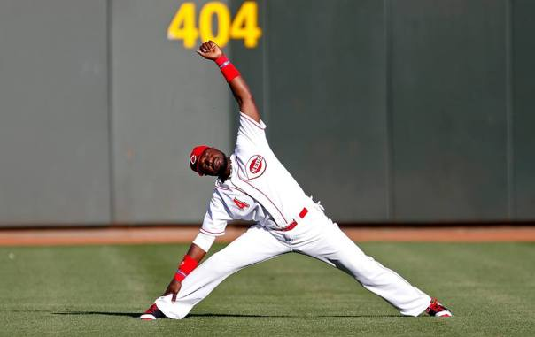 Brandon Phillips is a Gold Glove Caliber player, and until last year, his career numbers had steadily rising.  While the 32 Year Old Veteran knocked in 103 RBI, and blasted exactly 18 HRs for the 4th straight year, he featured an OPS of .706, his worst output by far during the last 8 years he has been a FULL - TIME player.  This only begs the question, how successful is he going to be if the club doesn't resign high OBP man Choo.  The Reds will continue to dangle the Second Baseman in the trade waters, and could potentially free up money towards resigning Choo with the dollars saved.