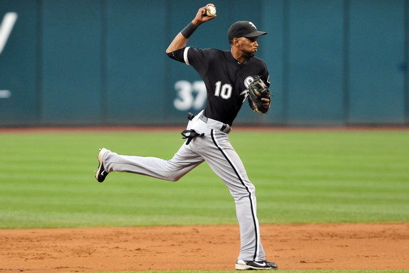 Alexei Ramirez has had some good times and bad with the franchise.  This past weekend definitely exemplified the bad.  The White Sox 31 Year Old Player from Cuba, has a Career 3 Slash Line of .276/.315/.708.  He has Stolen Base Threat.  The Sox might look to deal him - however will likely have to eat some salary remaining.  Ramirez makes $7.5 MIL in 2013, $9.5  MIL in 2014, $10.0 MIL in 2015 - and a Buyout of $1 MIL in 2016...or a $10 MIL Team Option.