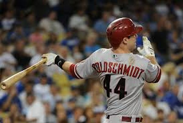 Paul Goldschmidt is pistol hot in the last 7 days.  He has even had 2 Grand Slams and a 3 run Decisive HR those contests.  His 3 Slash Line is .345/.425/1.148- with3 Taters and 16 RBI.  The 25 Year Old big man from Wilmington,  Delaware, also added  DBacks are leading the NL West and Goldschmidt is a bonafide early NL MVP candidate thus far.  He is hitting .336 for the season with 15 HRs (3rd in AL) and an NL leading 57 RBI.