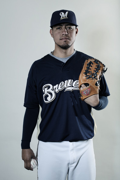 Gallardo is part of a Brew Crew Pitching Starting Staff that has really struggled.  Kyle Lohse simply makes too much money - and Gallardo could net a bigger return of prospects back if he were to be traded.  At only 27 Years of Age, he is also 7 years younger than Lohse