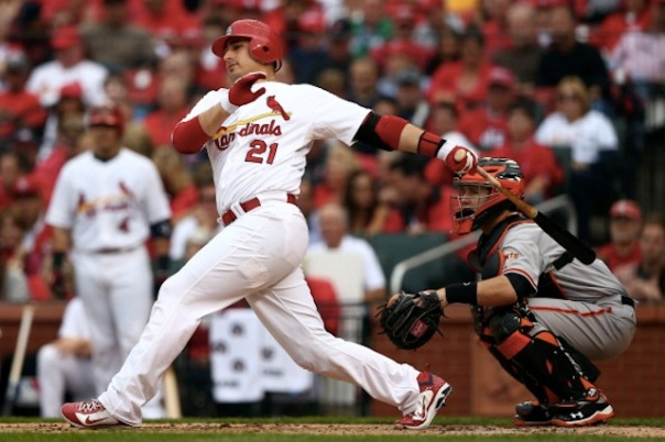 Allen Craig has not suited up for St. Louis since Sept 4th due to his foot injury.  The team will likely use him as the DH in the games at Boston.  The 29 Year Old had 3 HRs and 5 RBI in 19 AB during the 2011 World Series.