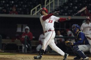 D.J. Peterson, a potential Mariners first round selection, is hitting .410 with 18 HR for the University of New Mexico.