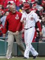 Out In Left Field:  The Reds Injury StrickenSituation