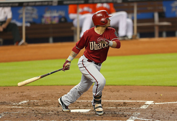 Gerardo Parra is having a  terrific fro the Diamondbacks, as indicated by his .315/.378/.858 triple-slash.