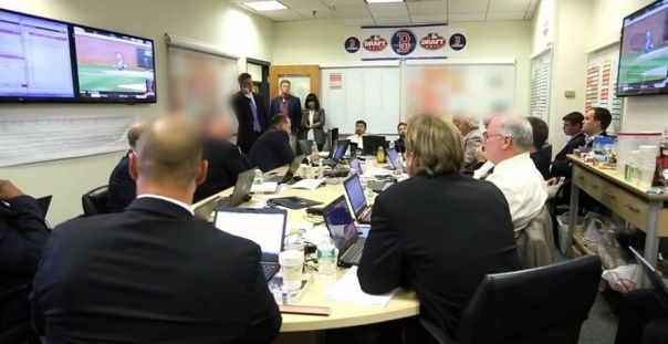A look into the Red Sox Draft Room