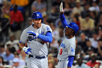 Scott van Slyke has hit 6 HRs in just 21 games. Outfield injuries and his bat is powering his way into the lineup.