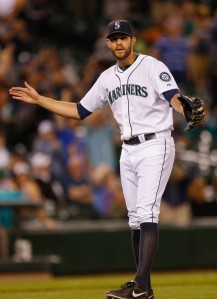 Will Tom Wilhelmsen be the Mariners closer by the time the 2013 All-Star break rolls around?