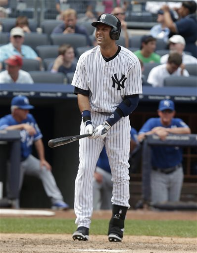 The Yankees have only missed the playoffs twice in Derek Jeter's Career (2008), they have made the Post Season in all other 17 seasons, including 10 ALCS Appearances,  7 World Series Appearances and 5 World Series.  Derek Jeter is the ALL - Time leader in hits for the Post Season, with 200 in 650 AB (.308).  But the aging superstar is probably entering into his last year.  Now that the team has started spending cash to protect their attendance, and viewership ratings on TV, they should not be shy.  Instead the Yankees can try to send out Jeter with at least a playoff spot in 2014.  The one thing coming is that one year the Yanks have to show some fiscal restraint.  With a rapidly aging team, it is my opinion they should just wait 1 more year anyway.