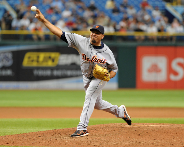 Joaquin Benoit had done everything the Tigers have asked him,  This man has been in 268 games over the last 4 years, and featured a mid 2 ERA.  His success early in the year may see him take over the Closers role, and free up the team to trade Huston Street for long-term assets.