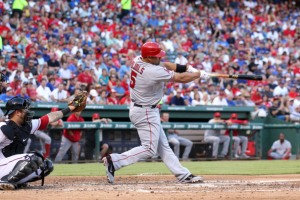 Los Angeles Angels of Anaheim v Texas Rangers v Texas Rangers