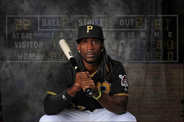 Andrew McCutchen is a star player at the age of 26.  Last year he hit for a 3 Slash Line of .327/.400/.953 - with a NL leading 194 Hits, 31 HRs and 96 RBI.  He enjoyed his 1st 100 Runs Scored Season (107) and finished 3rd in NL MVP Voting, while snagging himself a Gold Glove and A Silver Slugger Award.  This year he looks to carry the Bucs to their first playoff birth and winning season since 1992.