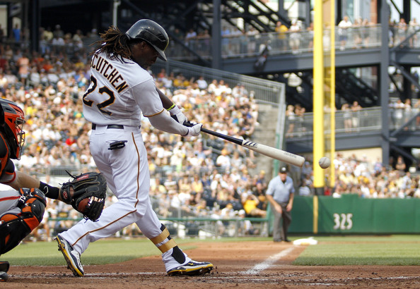 McCutchen is having good year for the Pirates, as indicated by his .299/.370/.839 triple-slash this season. He has hit nine home runs and has 44 RBIs in 311 at-bats. He is fifth in WAR in the NL this season at 4.4.