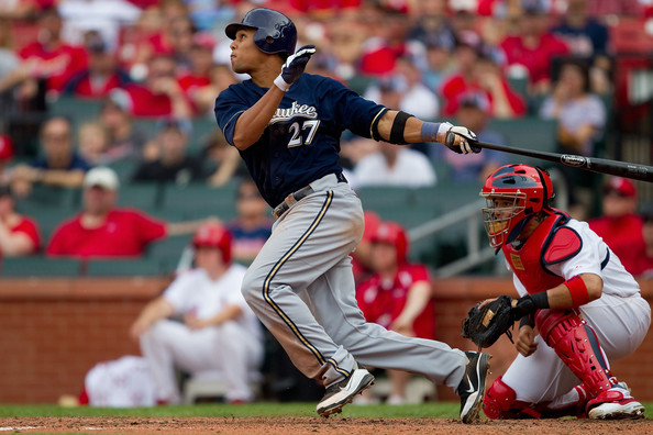 Carlos Gomez is having a breakout year for the Brewers, even with them in last place in the Central division. Where the team stands has not affected his play at all, with his .305 batting average and .895 OPS this season in 318 at-bats. He is sixth in NL with a with a .547 Slugging %, and fifth with 174 Total Bases.