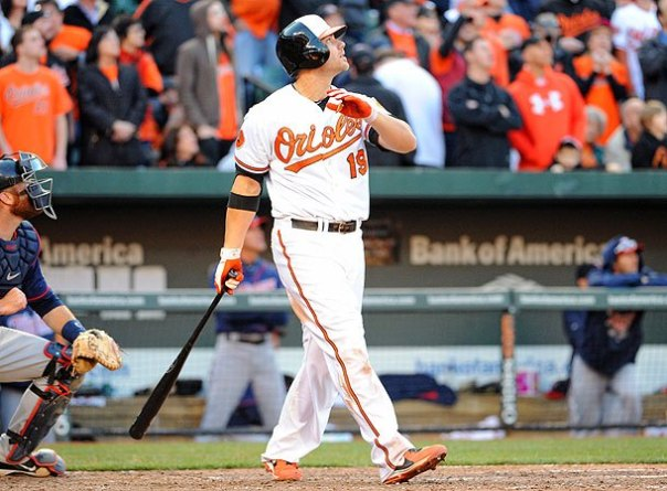 Chris Davis and Tommy Hunter were traded for by the club. in exchange for RHP relief pitcher Koji Uehara.  Davis has emerged to be a premiere power hitter in the game since that time frame.  Last Season, the man led the AL with 53 HRs and 138 RBI.  He is tied with 2 time reigning AL MVP Miguel Cabrera for 2nd in the MLB with 102 HRs since the start of the 2012 year.  Davis is under team control for one more of Arbitration in 2015 - before he will hit Free Agency.  This means the club could lose Cruz and Davis in back to back off years, which is why the club should push all of its chips into the middle of the table this year.