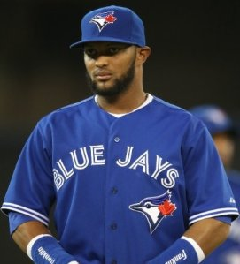 Emilio  Bonifacio is a speedster that could end up anywhere by the 4:00 PM deadline today. He hasn't been that great in Toronto this season but his track record is solid. Reports have him as the most likely of the Blue Jays to be traded.