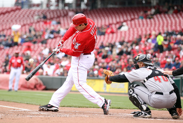 Joey Votto is having another good season for the Reds and he will be force in their lineup for years to come. The power numbers for him are down from years past with him only hitting 16 HRs and having 47 RBIs. However the opposition still has to respect his bat and if a pitcher makes a mistake expect him to hit the ball a long way. He has a .317/.429/.931 triple-slash in 388 at-bats this season with 20 Doubles. He is 7th in the NL with 195 Total Bases, and is also 8th with a WAR of 4.7. Votto is 1st in Times On Base in the NL at 202.