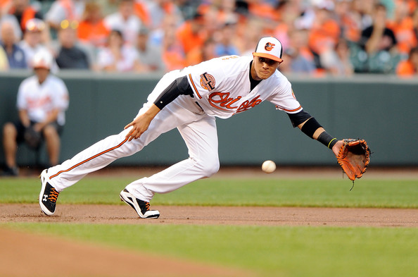 Machado is great defensive third baseman, who also happens to be a great hitter as well. Machado leads baseball with 38 doubles and has 117 hits, which is is second in the AL. He leads all position players in the AL with a WAR of 5.0, and also has the highest defensive WAR at 2.5.