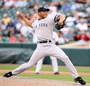 It was the Mariano Rivera show last night.  Not only does this man have a sparkling 0.70 ERA in 142 IP in the Post Season for his Career - you can now add 9 Scoreless Innings, 4 Saves and a Hold (courtesy of last night).  The last man to wear #42 also won the MVP for the ALL - Star Game in his last Appearance ever at the Mid Summers'Classic