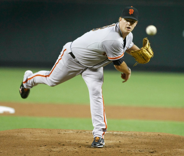 Matt Cain is struggling this season to say the least. He has games where he can be most dominant pitcher in baseball, then other games where he struggles to make it through five innings. He has a 4.79 ERA in 124 innings pitched while giving up 16 HRs.