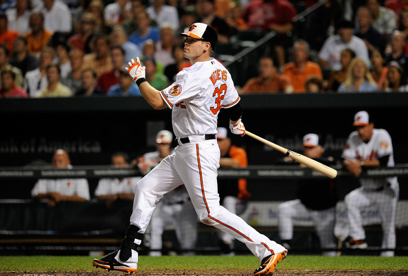 Matt Wieters is off to an outstanding start to the 2014 season, and it would be a crying shame if the Catcher had to be shelved with a position player Tommy John Surgery.  The 27 Year Old Veteran has slashed .341/.374/.560 with 5 HRs and 18 RBI so far this campaign.  Wieters has one more year of Arbitration Eligibility before he hits the open market in 2016.  If Wieters is injured but could still play, he may be the Full Time DH for the rest of 2014.