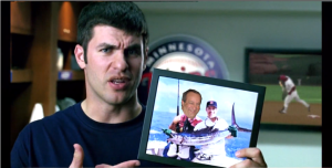 Looking for a Joe Mauer highlight clip turned into quite the project as there were so many and I couldn't stop watching. He really is a great player, and his commercials are hilarious. Well played Mauer.