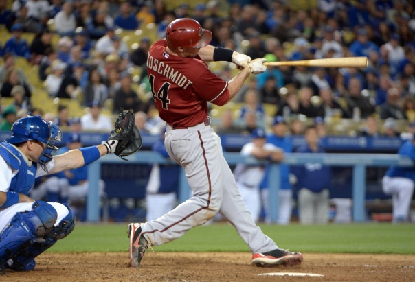 The Diamondbacks set themselves up for the bargain of the MLB  when they signed Goldschmidt to a 5 YRs/$32 MIL deal a long time ago.  The slugging 1B will only make $40 MIL over the next 4 years - which is a huge reason why the club is in such great financial position to contend right now.  He would easily be worth $30 MIL+ a year on the open market right now.