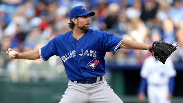 Dickey is not the same pitcher he was with the Mets a season ago. He had a 2.73 ERA in 233.7 innings pitched with 230 strike outs and a 1.05 WHIP. He was third in WAR for pitchers, with it at 5.8. This year for Toronto he has a 4.77 ERA in 122.2 innings with a WHIP of 1.28.
