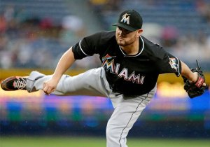 Ricky Nolasco was 5-8 with a solid 3.85 ERA in 18 games started with the Miami Marlins. The trade hopes to give consistency and pitching depth for the Dodgers.